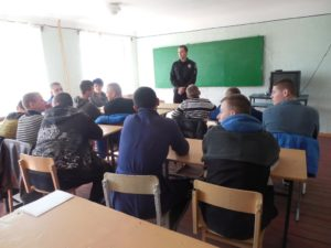 Правоохоронці провели профілактичну бесіду з вихованцями Макіївського ПУСР ім. А.С.Макаренка
