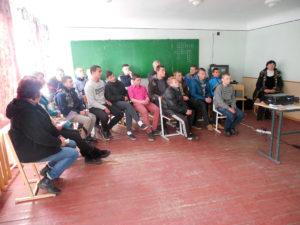 Вихованців Макіївського ПУСР ім. А.С.Макаренка відвідали представники благодійного фонду «Можливість».